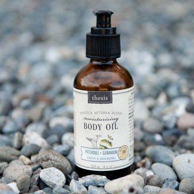 Thesis Body Oil Patchouli + Geranium